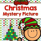 Tens and Ones Place Value Mystery Picture (Christmas)