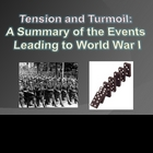 Tension and Turmoil: A Summary of the Events Leading to Wo