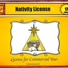 Terms of Use for Licensed Clip Art - Nativity