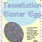 Tessellation Easter Egg (Math, Art, and Easter!)