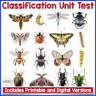 Test: Diversity of Life and Classification of Living Organisms