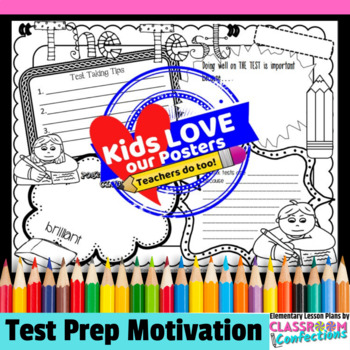 Test Prep Poster Activity