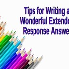 Test Prep - Tips for Writing Extended Response Answers - FREE