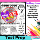 Test Prep Word Search Activity