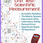 Test: Scientific Measurement (Metrics, Sci. Notation, Sig.