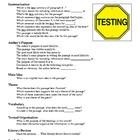 Test Talk Question Stems