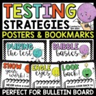 Testing Strategies Bookmark for Students