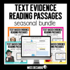 Text Based Evidence Reading Passages: BUNDLE PACK!