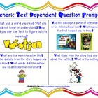 Text Dependent Questions Resource Pack w/ tips & question
