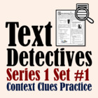 Text Detectives Set 1