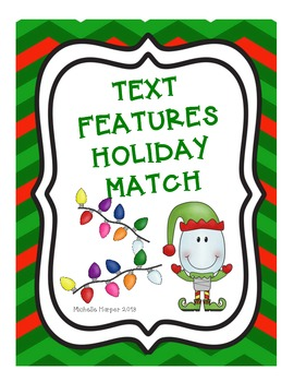Text Features Holiday Match