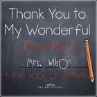 Teacher Gift: Thank You to my Teacher Book {Color & BW}