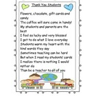 Thank You to Students Poem