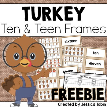 Thanksgiving 10 Frame Freebie