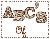 Thanksgiving ABCS