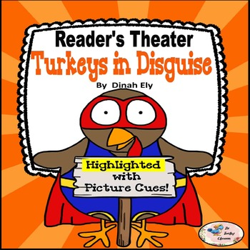 Thanksgiving Activities - Reader's Theater  - Turkeys in Disguise