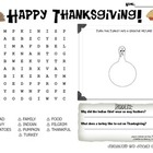 Thanksgiving Activity Mat