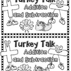 Thanksgiving Addition & Subtraction Mini Book {Common Core