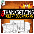 Thanksgiving Bookmarks - Figurative Language / Writing Pap