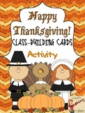 Thanksgiving Class-Building Cards
