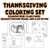 Thanksgiving Coloring Activities in Spanish