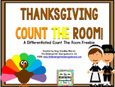 Thanksgiving Count The Room!  A Common Core Aligned Math Freebie!