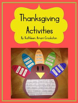 Thanksgiving Craft and Activities