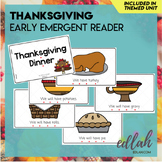 Thanksgiving Early Emergent Reader
