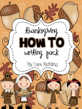 Thanksgiving How To Writing Pack FREEBIE