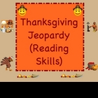 Thanksgiving Jeopardy Smartboard Language Arts Lesson