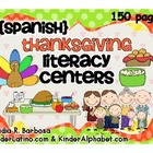 Thanksgiving Literacy Centers: Spanish