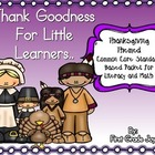 Thanksgiving Literacy Poem Packet