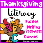 Thanksgiving Literacy Puzzles and Games