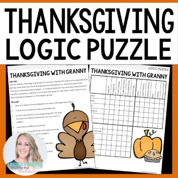 Thanksgiving Logic Puzzle