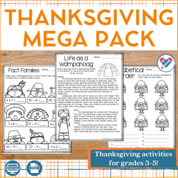 Thanksgiving MEGA Pack!