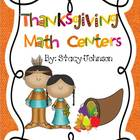 Thanksgiving Math Center Fun