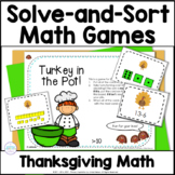 Thanksgiving Math Games: Turkey in the Pot!