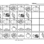 Thanksgiving Math Patterns