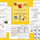 Thanksgiving Math Worksheets for Centers and Stations