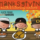 Thanksgiving Math and Literacy Center Activities