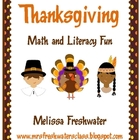 Thanksgiving Math and Literacy Fun
