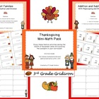 Thanksgiving Mini Math Pack