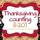 Thanksgiving One-To-One Correspondence (1-20)