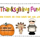 Thanksgiving Ordinal Positions and Logic Fun