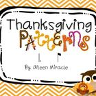 Thanksgiving Patterns {Tam-ti}