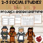 Thanksgiving Project and Powerpoint on a Changed Community Bundle