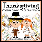 Thanksgiving Quick Common Core (2nd grade)