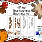 Thanksgiving Sample Bookmarks
