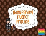 Thanksgiving Silly Sentences {Fluency Practice}