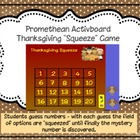 Thanksgiving Squeeze (FREEBIE) Promethean Activboard